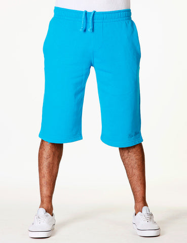 Basic Fleece Sign Shorts RBB-3000 Aqua