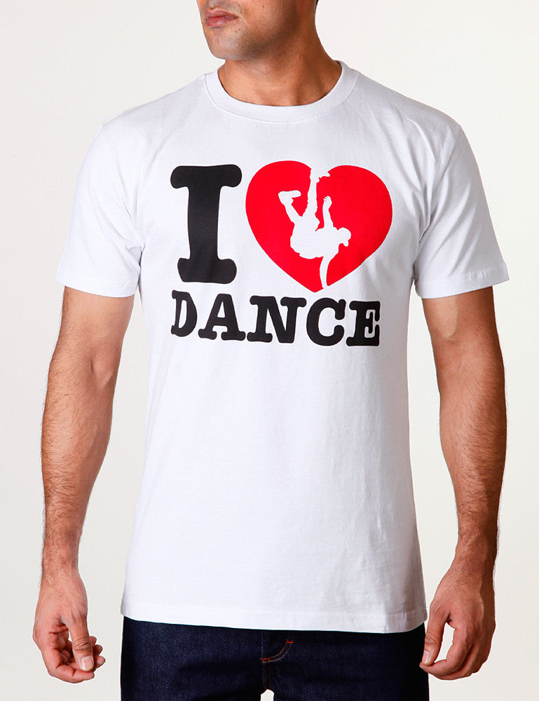 I Love Dance Tee White