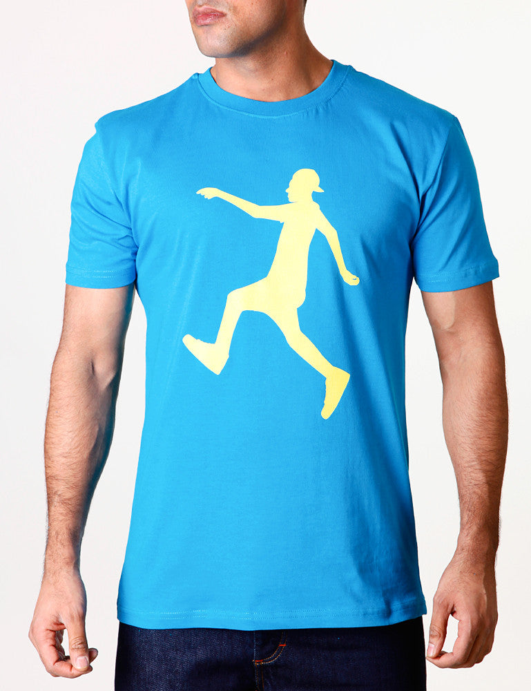 Raw Blue Jerker One Tee Blue