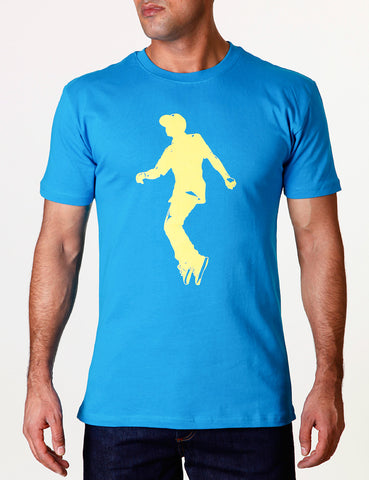 Raw Blue Jerker Two Tee Blue
