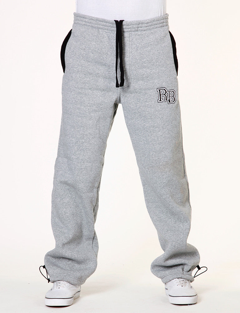 RB 2-tone Patch Pants Grey