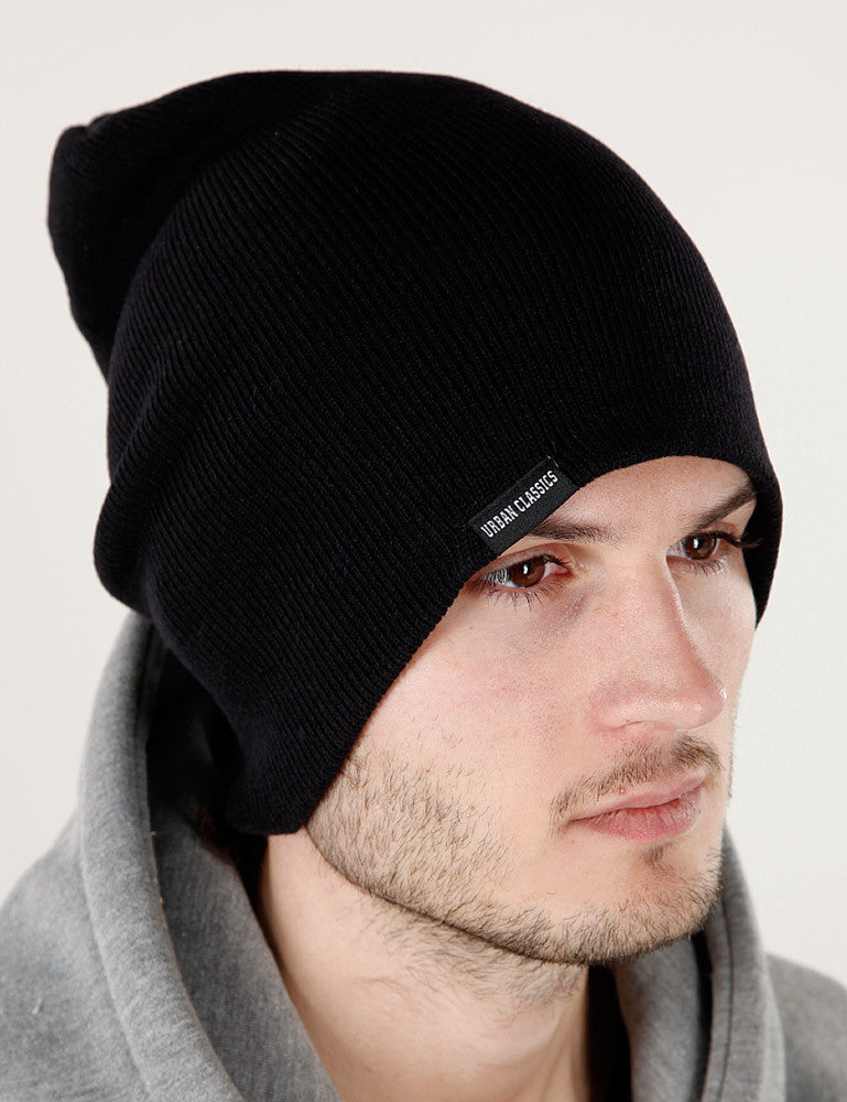 Long Beanie TB307  Black