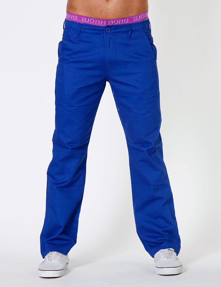 Chino Pants J-9201 Blue