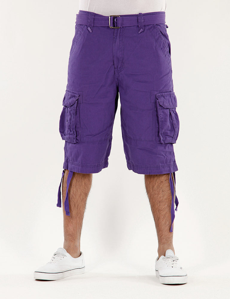Basic J-8003 Short Purple