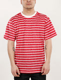 Round Strip BT-1031 T-Shirt Red