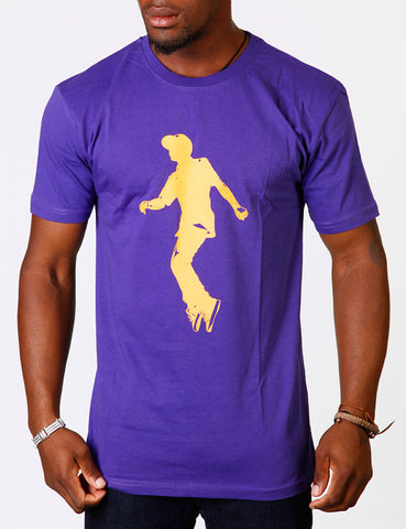 Raw Blue Jerker Two Tee Purple