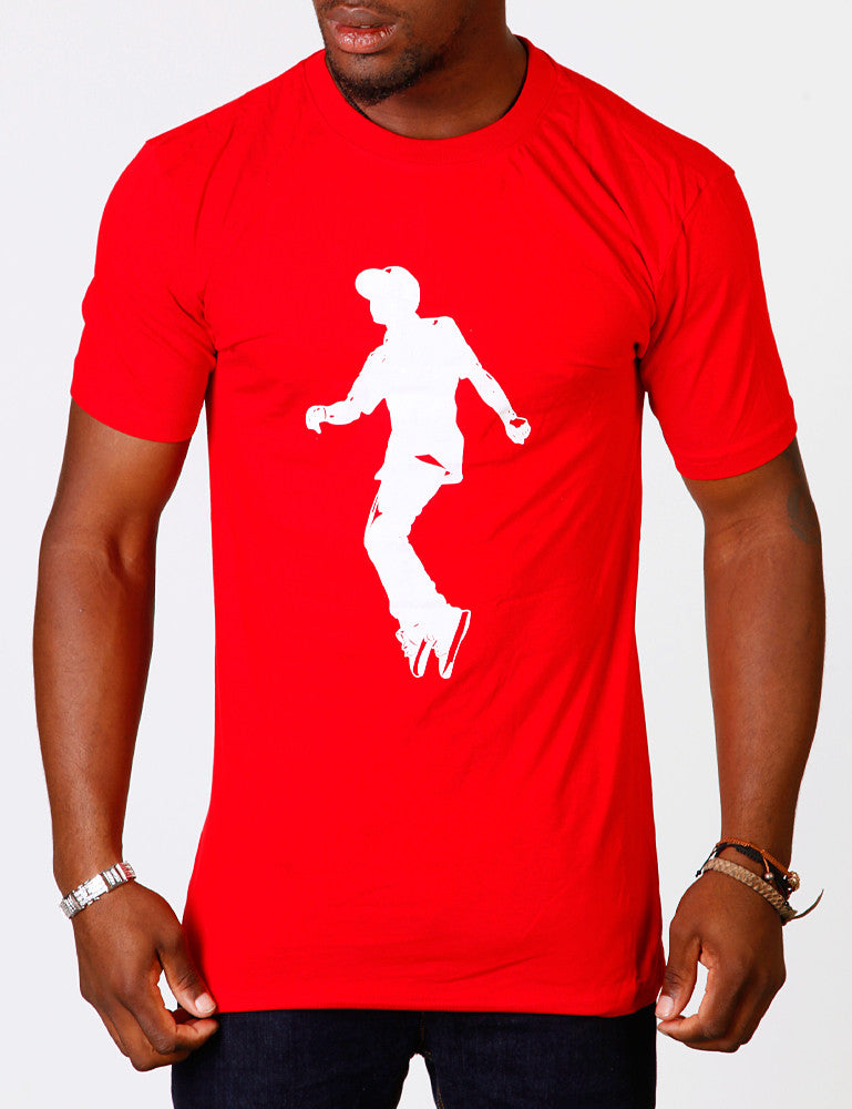 Raw Blue Jerker Two Tee Red