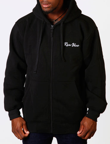 Signature Zip Hoody EF-4572 Black