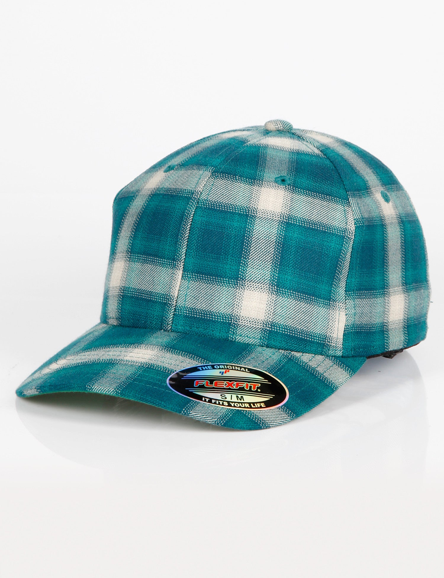 FF Flexfit Plaid Cap Green