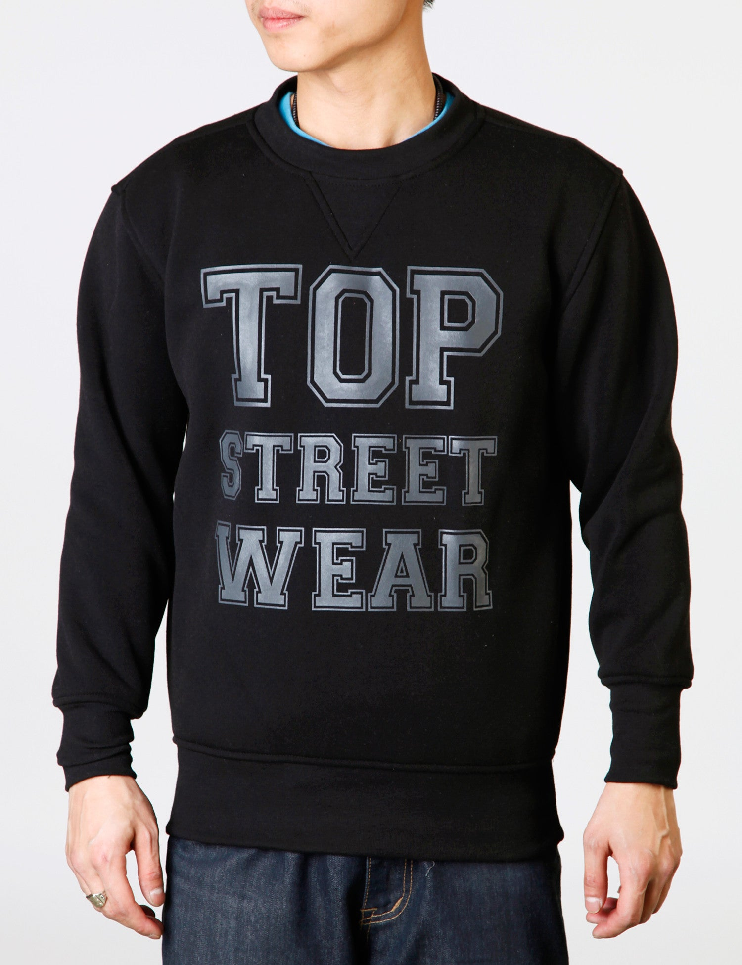 Kids TSW Crewneck YLD-2577K Black