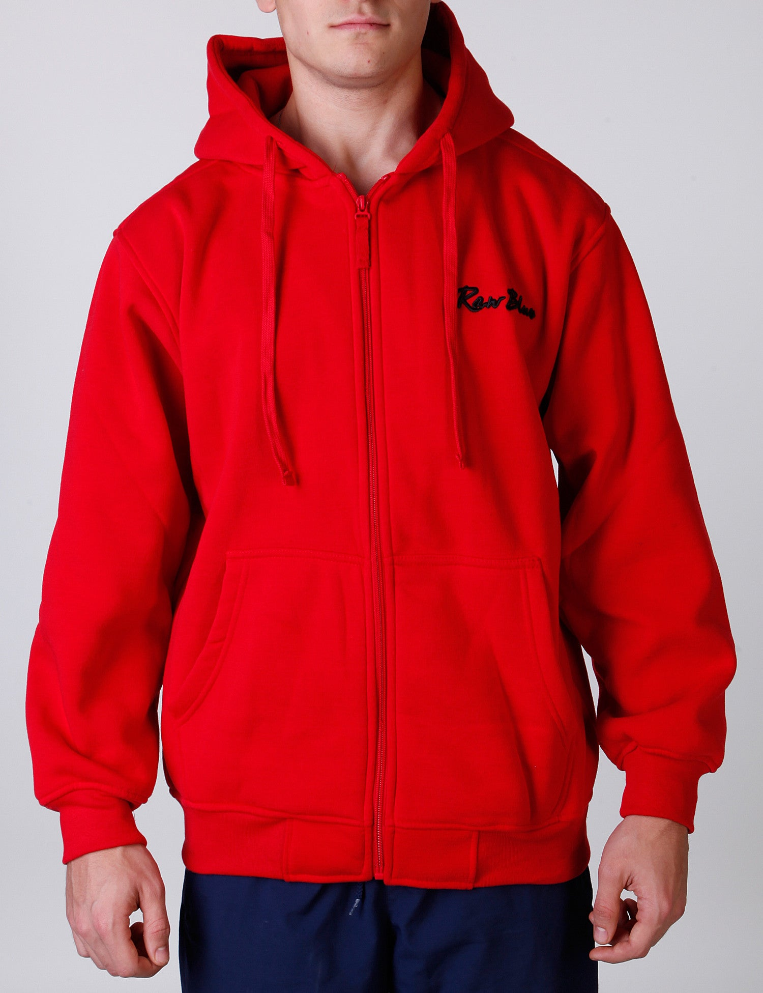 Signature Zip Hoody EF-4572 Red
