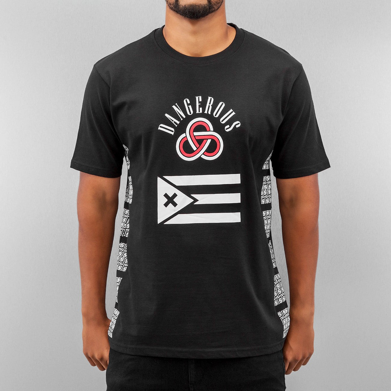 Dangerous DNGRS Flag T-Shirt  Black