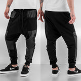 Bangastic PU Sweat Pants  Black