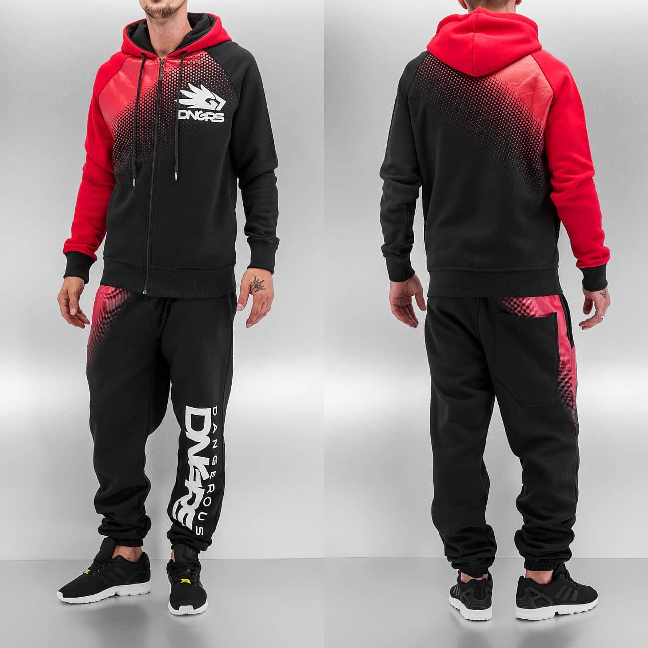 Dangerous DNGRS Classic Sweat Suit  Black