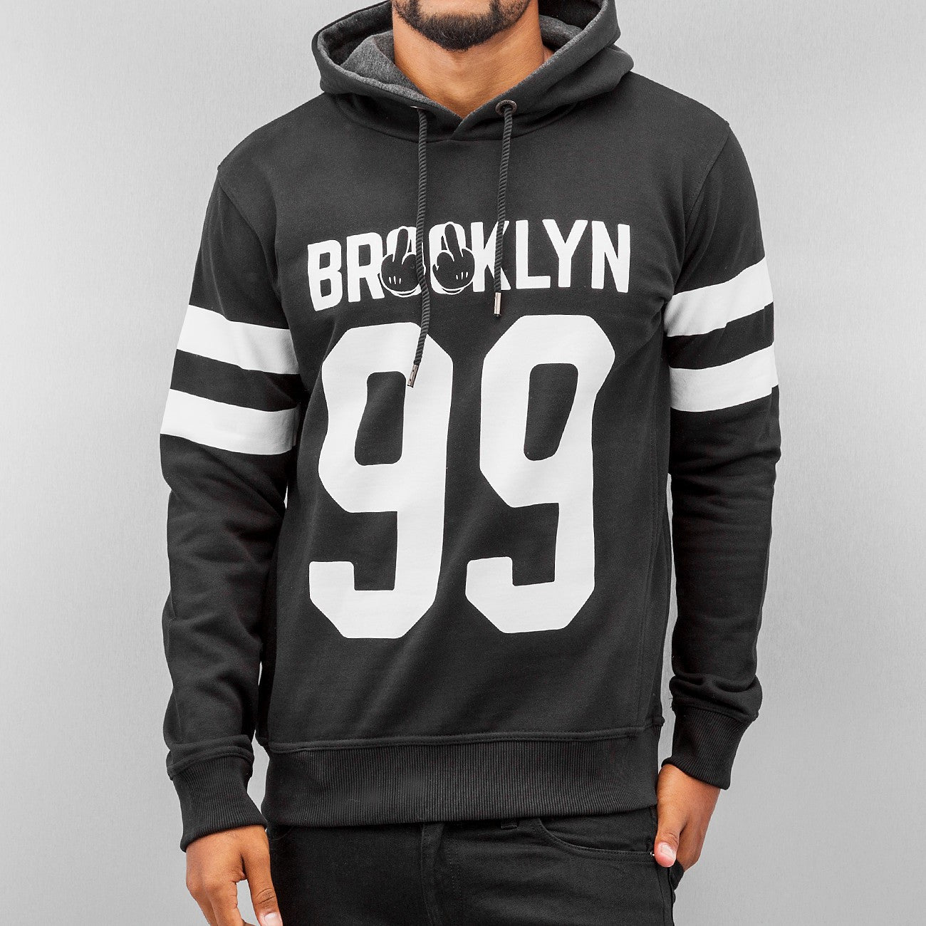 Dangerous DNGRS Brooklyn 99 Hoody Black Black