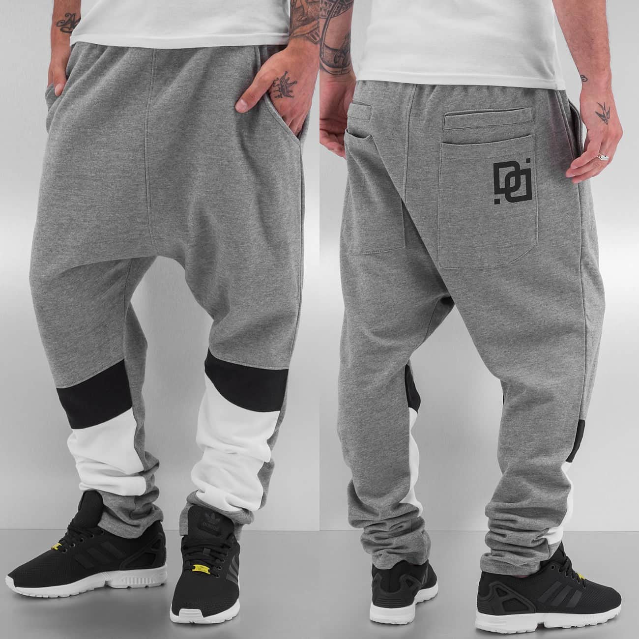 Dangerous DNGRS Sweat Pants  Grey