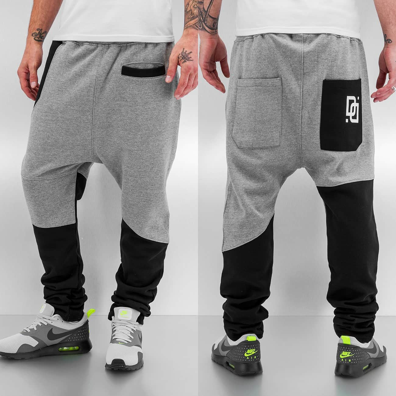 Dangerous DNGRS Front Pocket Sweat Pants  Grey