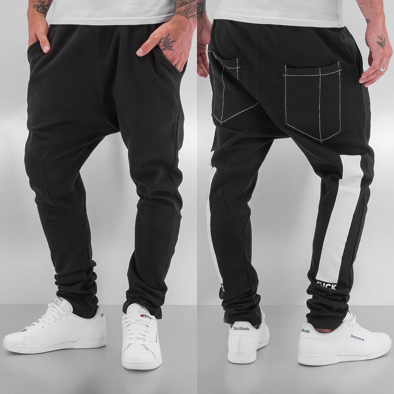 Dangerous DNGRS Sweat Pants  Black