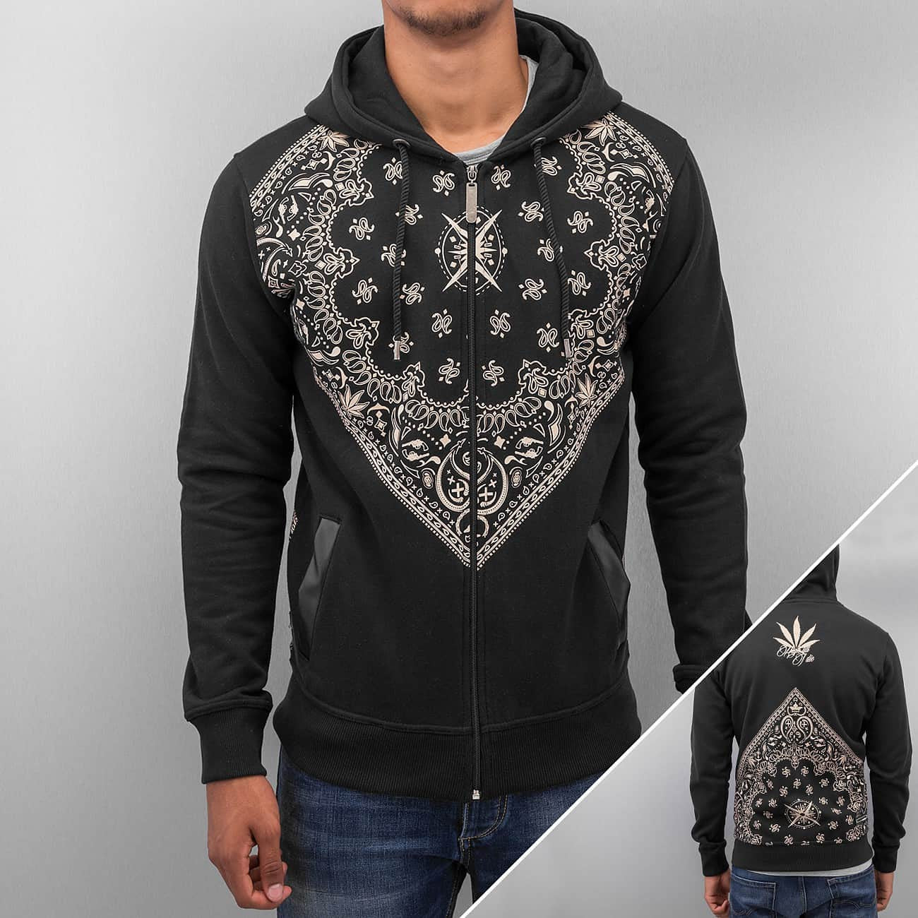 Dangerous DNGRS High Till Of Die Zip Hoody  Black