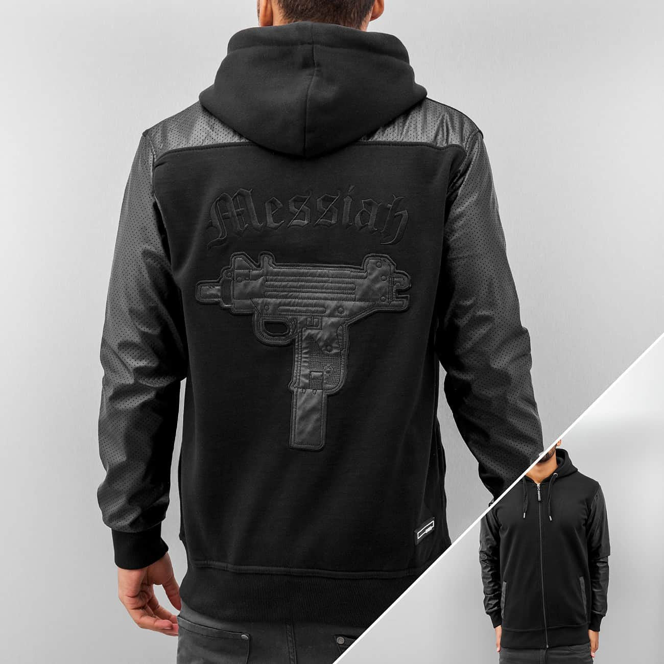 Dangerous DNGRS Messiah Zip Hoody  Black