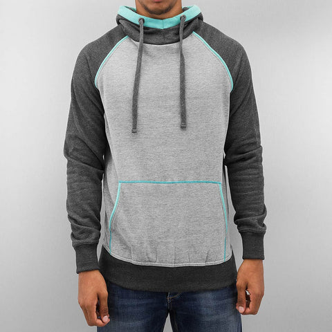 Just Rhyse Three Tone Hoody  Grey