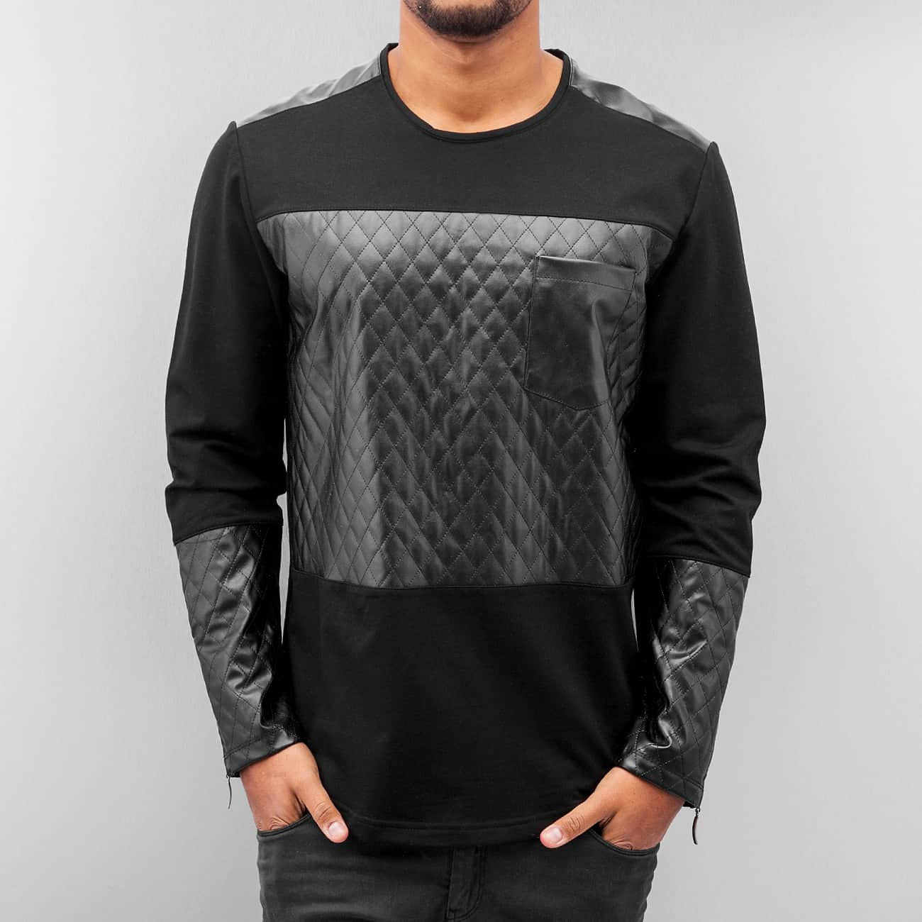 Bangastic Quilted Longsleeve  Black