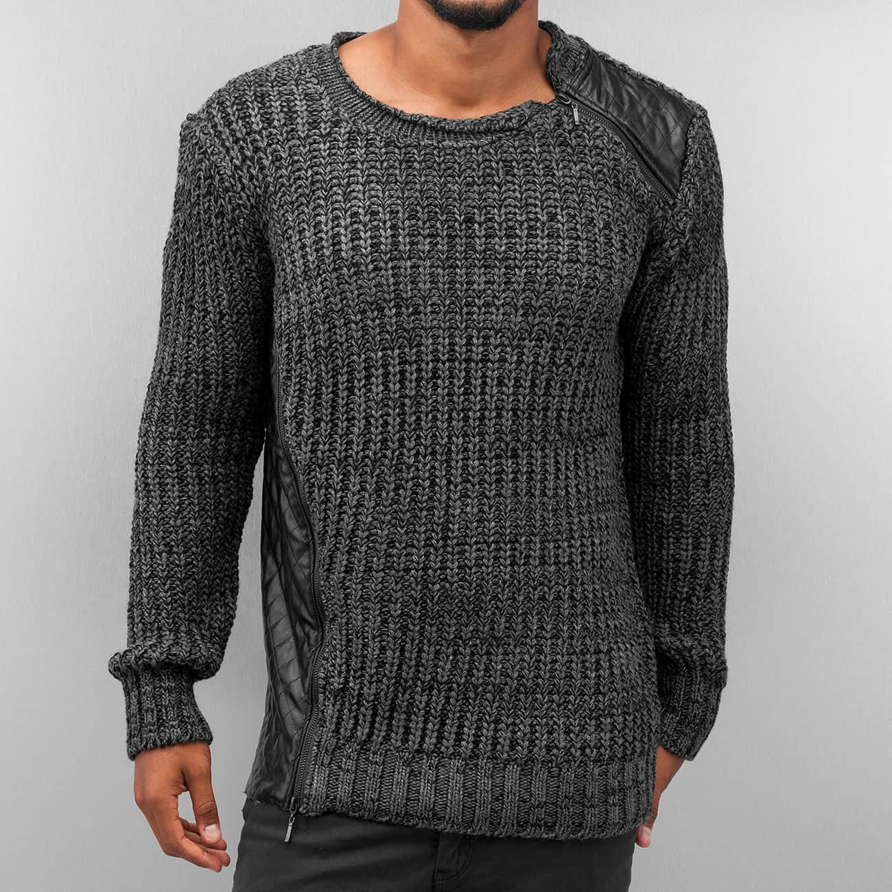 Bangastic Knit Pullover  Grey