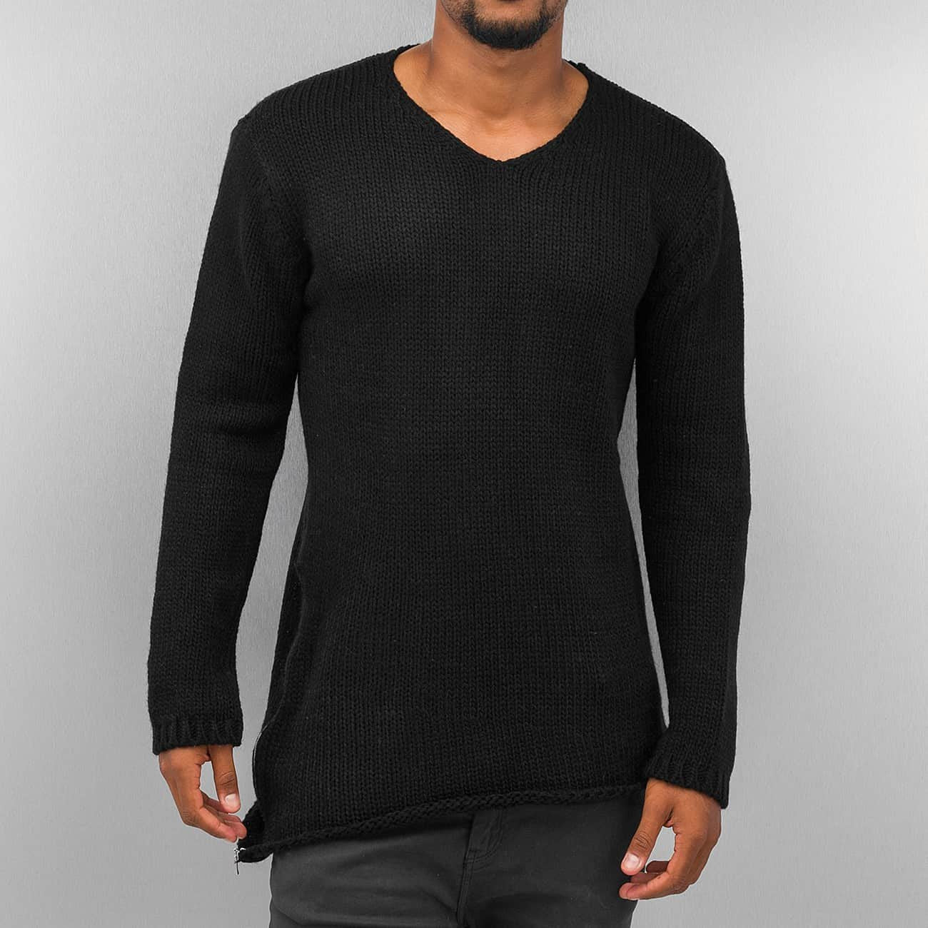 Cazzy Clang Knit Sweater  Black