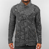 Cazzy Clang Placket Hoody  Grey