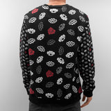 Dangerous DNGRS Brass Knuckles Sweatshirt Black Black