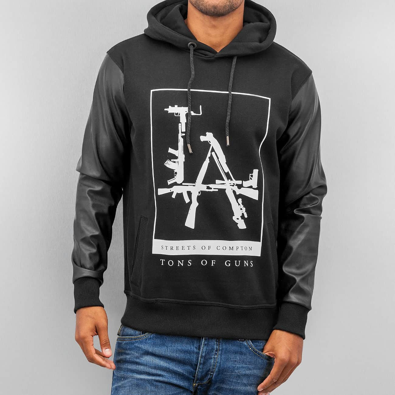 Dangerous DNGRS Tons Og Guns Hoody Black Black