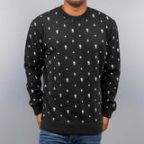 Just Rhyse Fuck Off Sweater  Black