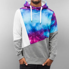 Just Rhyse 3 Tone Galaxy Hoody  Multi