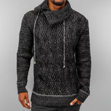 Just Rhyse Knit Sweater  Black