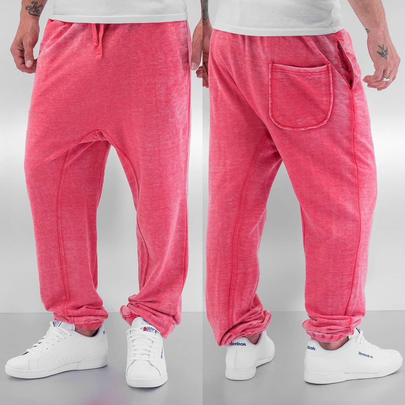 Just Rhyse Soft Sweat Pants  Red