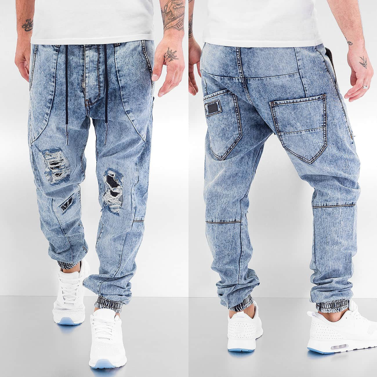 Just Rhyse Berlin Anti Fit Jeans  Blue