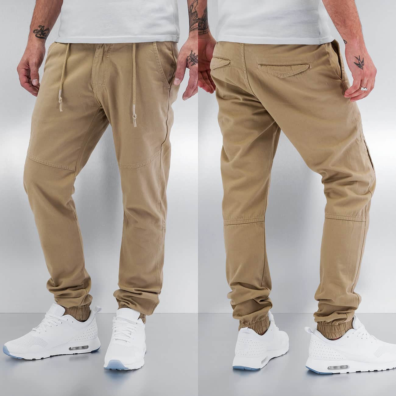 Just Rhyse Anti Fit Chino  Beige