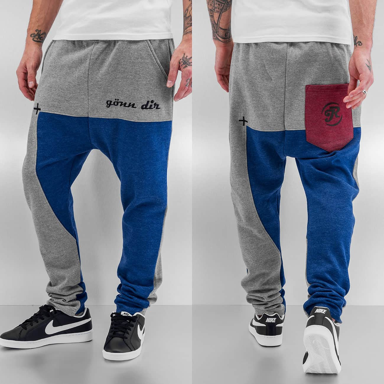 Just Rhyse G��nn Dir Sweat Pants  Grey