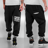 Just Rhyse Fuck Sweat Pants  Black