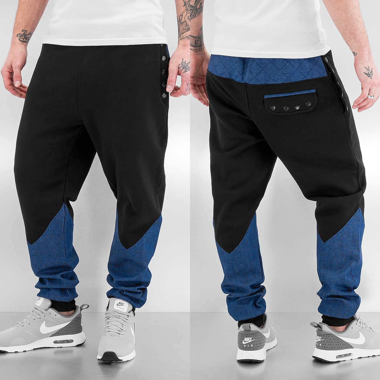 Just Rhyse Most Wanted Sweat Pants  Black