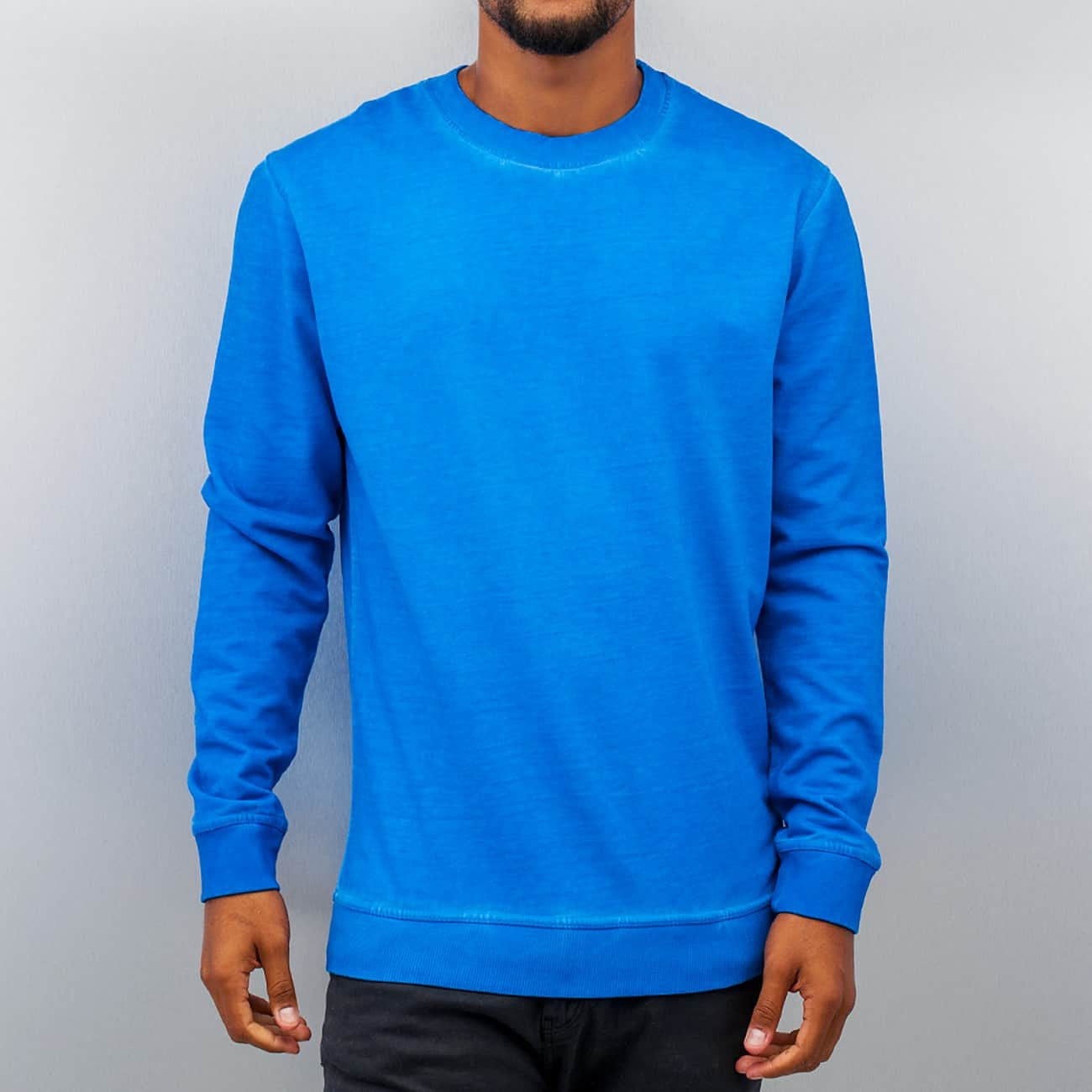 Just Rhyse Dye Sweatshirt  Blue