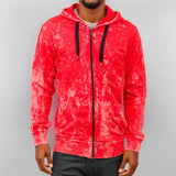 Just Rhyse Acid Zip Hoody  Red