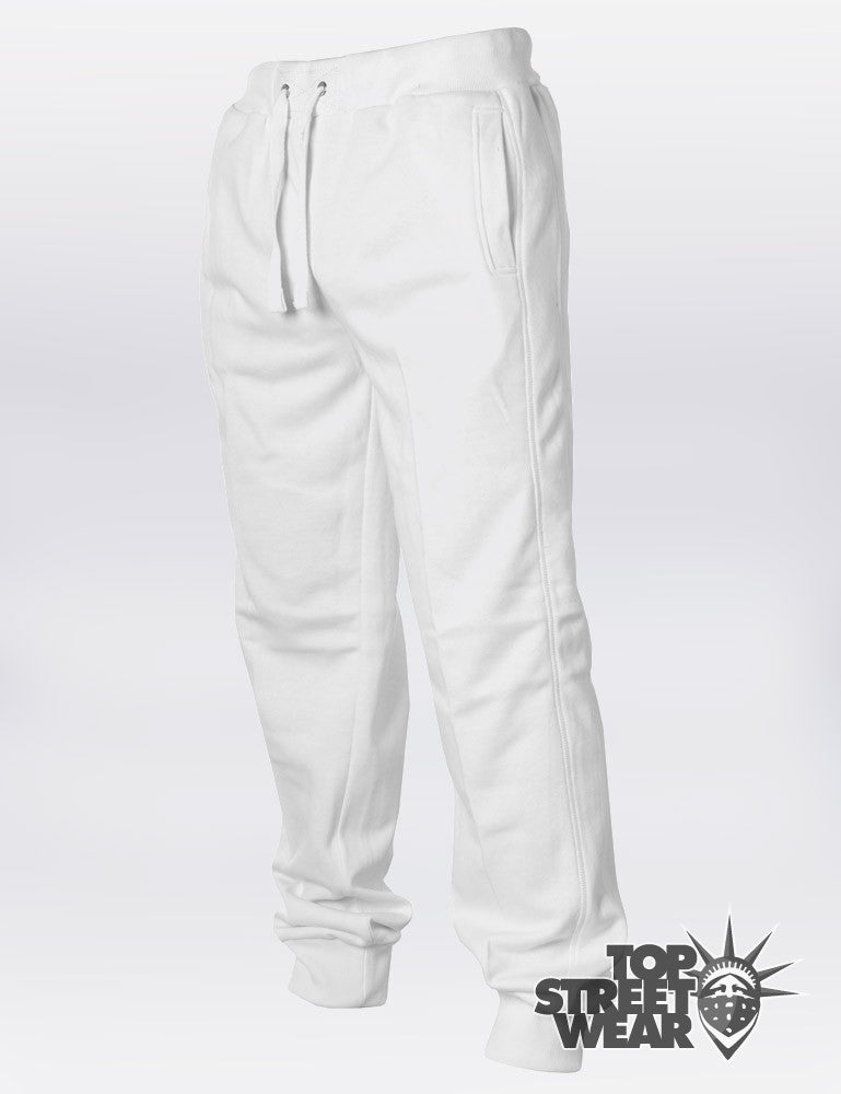 Straight Fit Sweatpants TB252  White