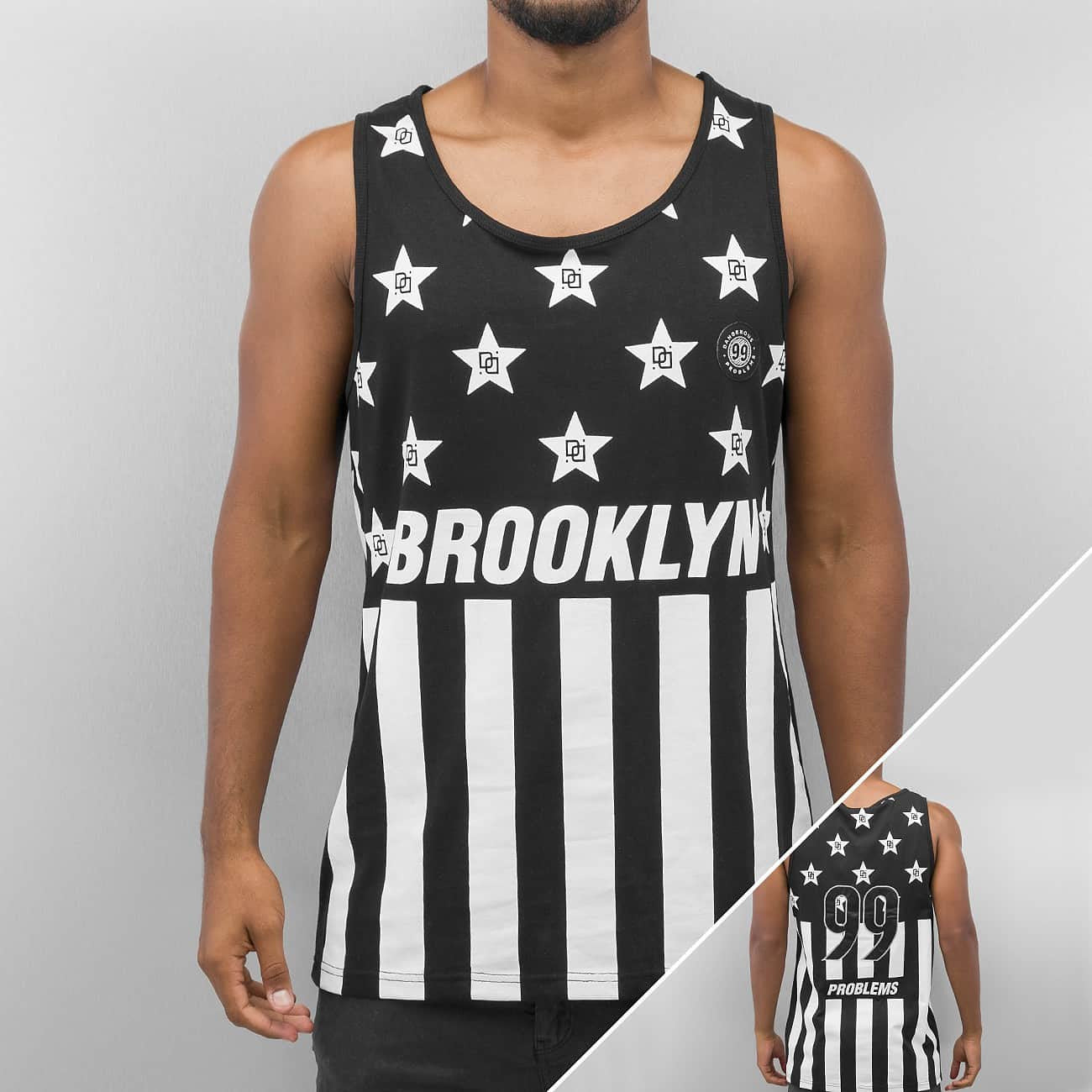 Dangerous DNGRS Brooklyn Tank Top  Black