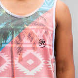 Just Rhyse William Tank Top  Black