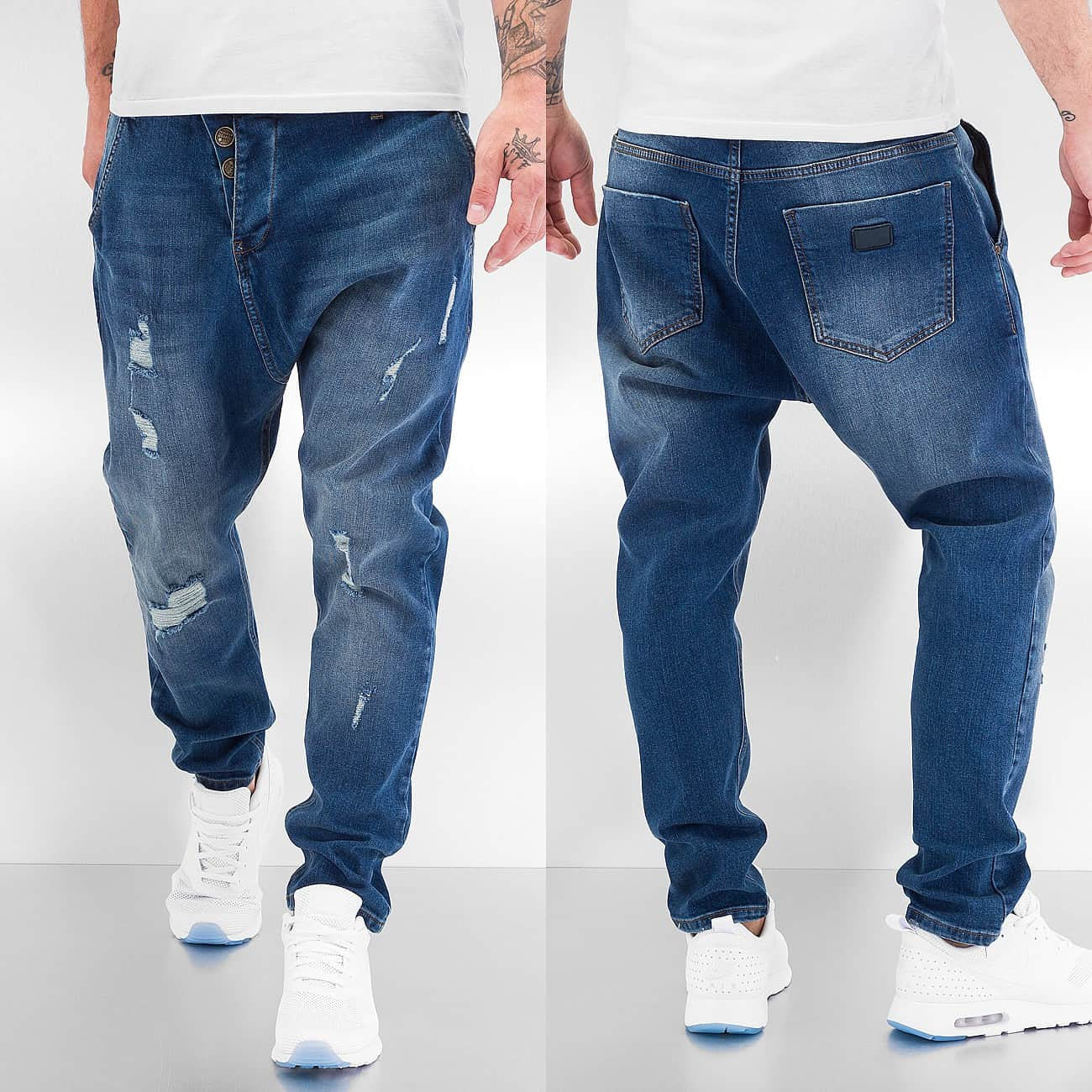 Just Rhyse Used Jeans  Blue