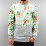 Just Rhyse Birds Sweatshirt  Grey