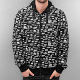 Dangerous DNGRS Power Your Ego Zip Hoody  Black