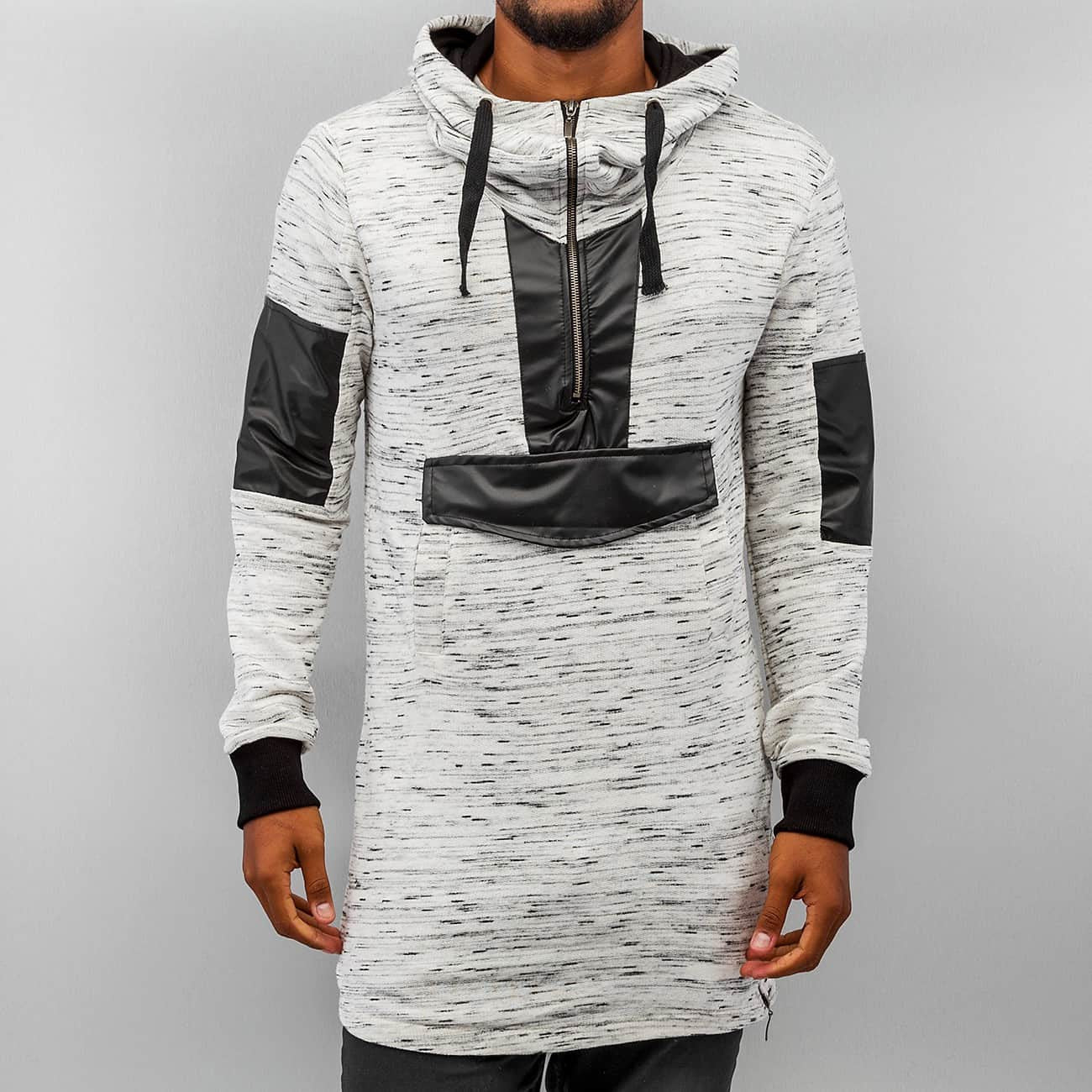 Bangastic PU Long Hoody  Grey