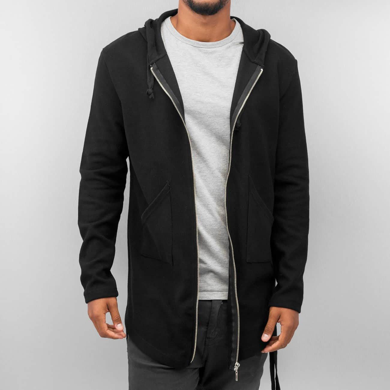 Bangastic Long II Zip Hoody  Black